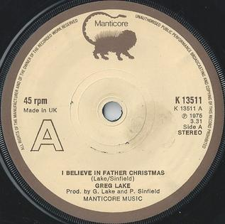 I Believe In Christmas.I Believe In Father Christmas Wikipedia