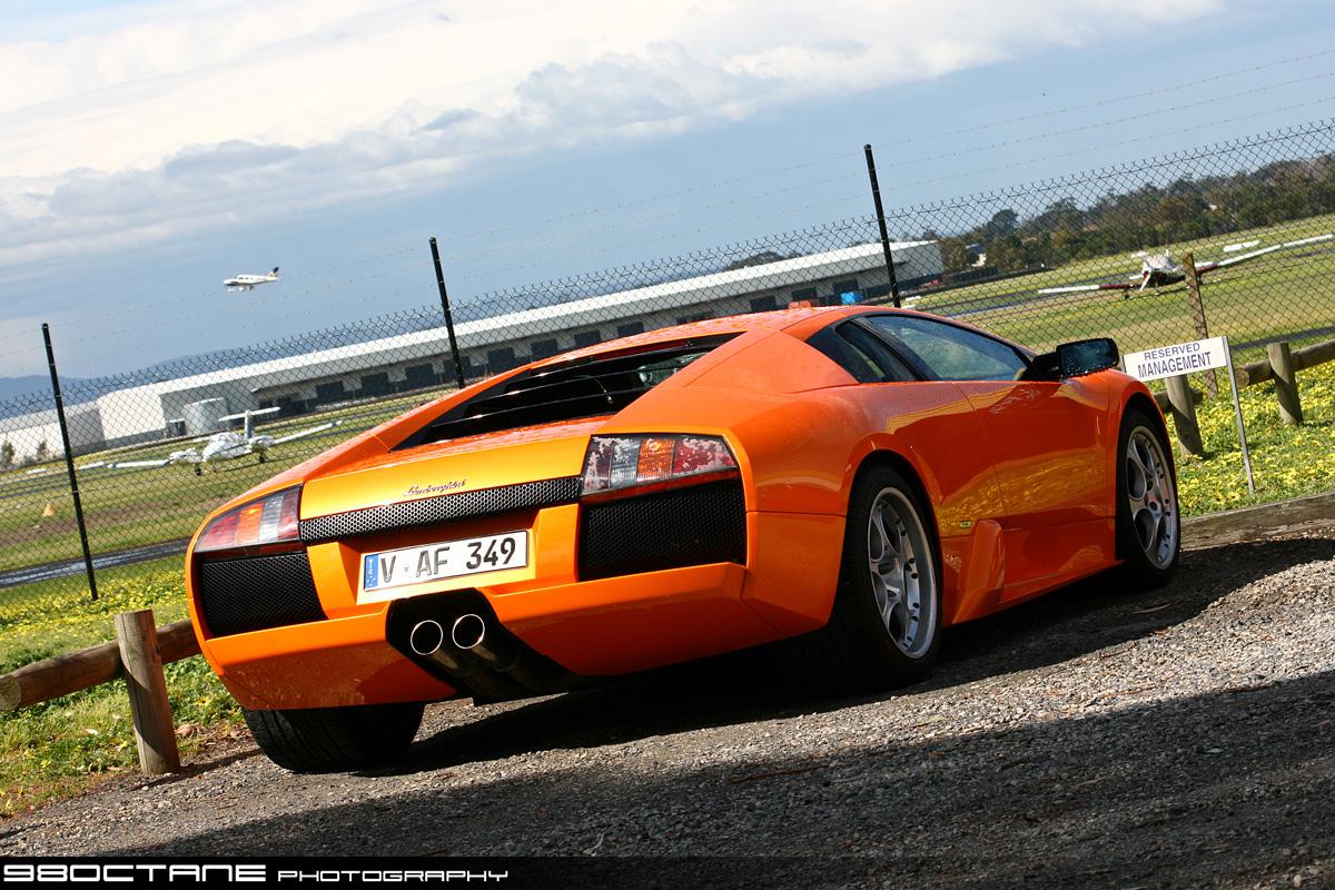 File Lamborghini Murcielago In Moorabbin Airport Rear 98octane