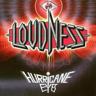 <i>Hurricane Eyes</i> 1987 studio album by Loudness