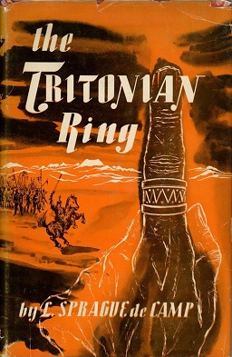 <i>The Tritonian Ring and Other Pusadian Tales</i> book by Lyon Sprague de Camp