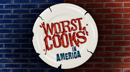 Image result for worst cooks in america logo