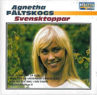 <i>Agnetha Fältskogs svensktoppar</i> 1998 compilation album by Agnetha Fältskog