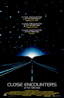 Close Encounters of the Third Kind (1977) theatrical poster.jpg and Fifths