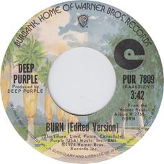 Burn (Deep Purple song) 1974 song by Deep Purple