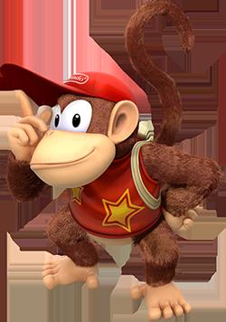 ディディーコング Didī Kongu (Diddy Kong)