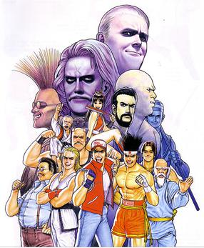 List Of Fatal Fury Characters Wikipedia