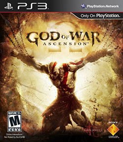 Cover art featuring the protagonist Kratos.