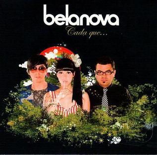 翻唱歌曲的图像 Cada que... 由 Belanova