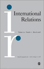 <i>International Relations</i> (journal) Academic journal