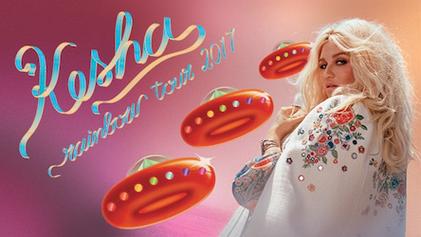 Kesha Rainbow Tour Dates