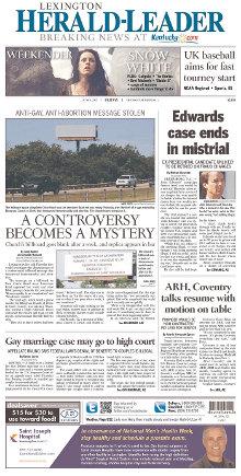 Lexington Herald-Leader avant page.jpg
