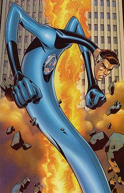 Mister Fantastic, aka Reed Richards of the Fantastic Four