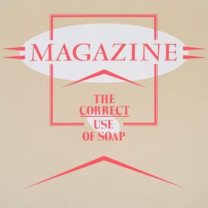 <i>The Correct Use of Soap</i> 1980 studio album by Magazine