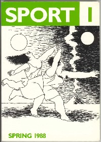 The cover of the first issue of Sport magazine