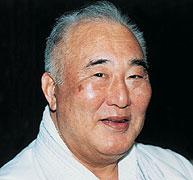 Taiji Kase Japanese karateka