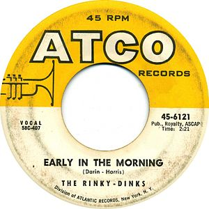Early In The Morning Bobby Darin Song
