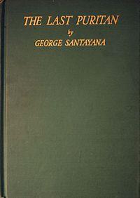 <i>The Last Puritan</i> book by George Santayana
