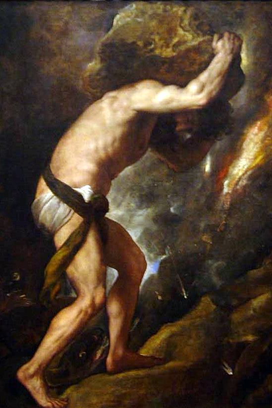 an analysis of the punishment of sisyphus by god The myth of sisyphus  critical analysis camus has argued that the absurd hero sees  then he describes about sisyphus and his punishment given by the.