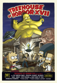 Treehouse of Horror XVII 4th episode of the eighteenth season of The Simpsons