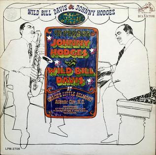 <i>Wild Bill Davis & Johnny Hodges in Atlantic City</i> 1967 live album by Johnny Hodges and Wild Bill Davis