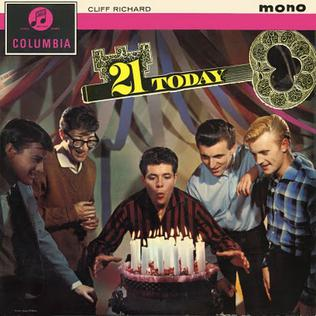 <i>21 Today</i> 1961 studio album by Cliff Richard
