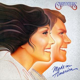 <i>Made in America</i> (The Carpenters album) 1981 studio album by Carpenters