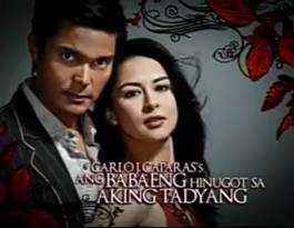 <i>Ang Babaeng Hinugot sa Aking Tadyang</i> 2009 Philippine television series