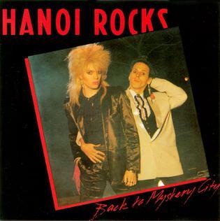 <i>Back to Mystery City</i> 1983 studio album by Hanoi Rocks