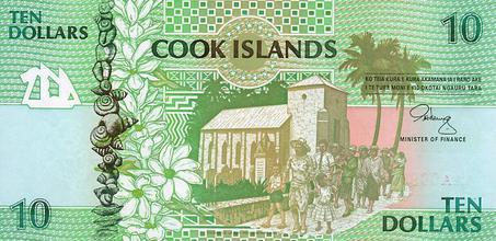 Dollar  Cook Island M Ef Bf Bddchen Mit Perle J Vermeer