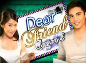 <i>Dear Friend</i> Philippine television show