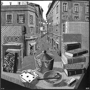 Escher, Still Life and Street.jpg