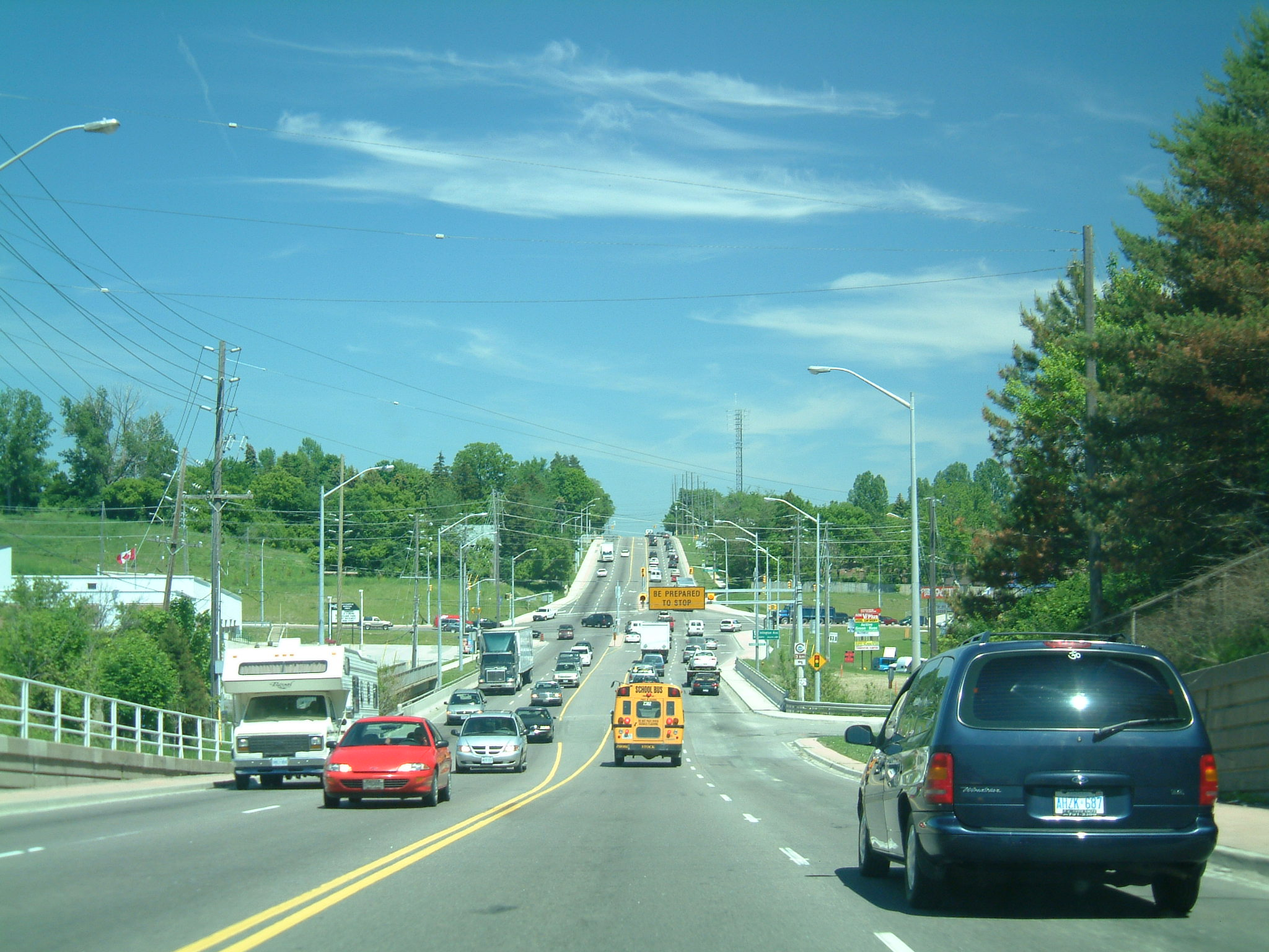 File Hwy 7 And Islington Woodbridge Ontario 2003 Jpg