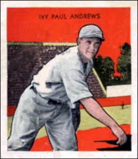 Ivy Andrews American baseball player