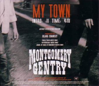 My Town Montgomery Gentry Song Wikipedia