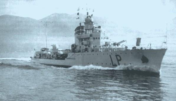 Italian Destroyer Lampo