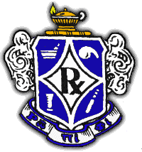The Rho Pi Phi Crest