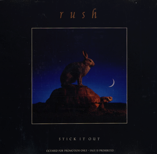 Stick It Out (Rush song) 1993 single by Rush