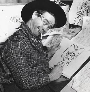 Ward Kimball American animator and jazz trombonist