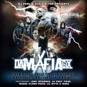 <i>Watch What U Wish...</i> 2015 studio album by Da Mafia 6iX