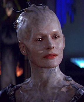 Krige as the Borg Queen in First Contact