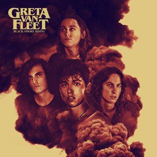 <i>Black Smoke Rising</i> 2017 EP by Greta Van Fleet