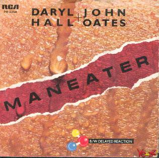 Cover image of song Maneater by Hall & Oates