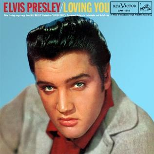 <i>Loving You</i> (soundtrack) 1957 soundtrack album by Elvis Presley