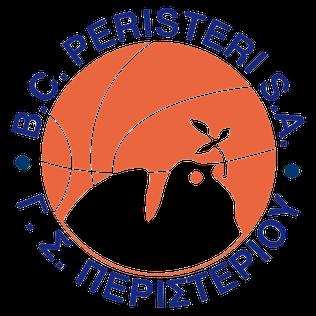 Peristeri B.C. Basketball team based in Peristeri, Attica, Greece.