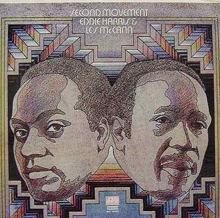 <i>Second Movement</i> 1971 studio album by Eddie Harris and Les McCann