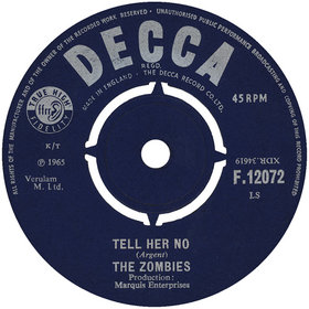 1965 single by The Zombies
