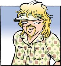 Zonker Harris doonesbury character