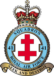 No. 41 Squadron RAF Flying squadron of the Royal Air Force