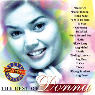 <i>The Best of Donna</i> 1998 compilation album by Donna Cruz