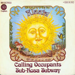 Calling Occupants of Interplanetary Craft 1976 single by Klaatu